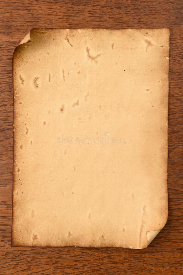 Vieja textura de los papeles fotografía de archivo