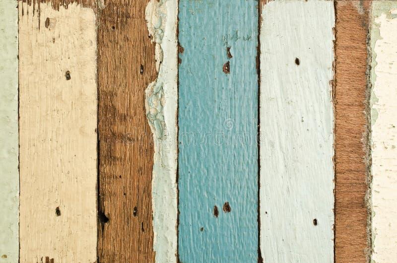 Vieja textura de madera de los tablones foto de archivo