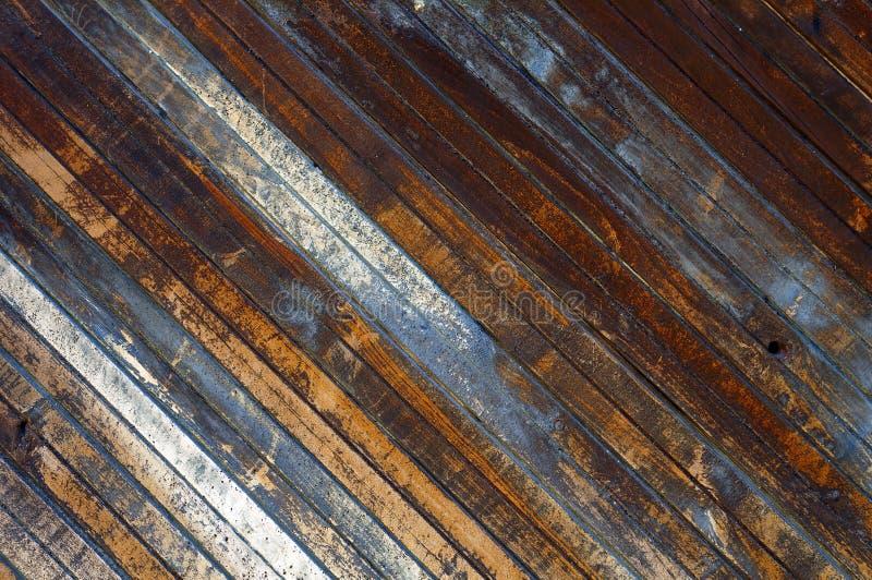 Vieja textura de madera de los tablones fotografía de archivo libre de regalías