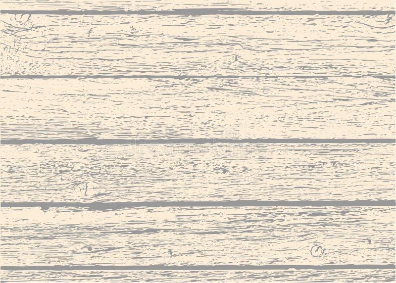 Vieja textura de madera de los tablones libre illustration