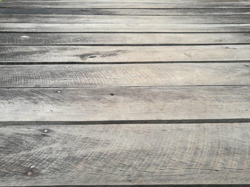 Vieja textura de madera del fondo del piso imagen de archivo