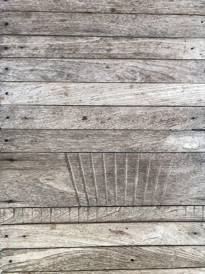 Vieja textura de madera gris del fondo, estilo de la naturaleza del papel pintado foto de archivo