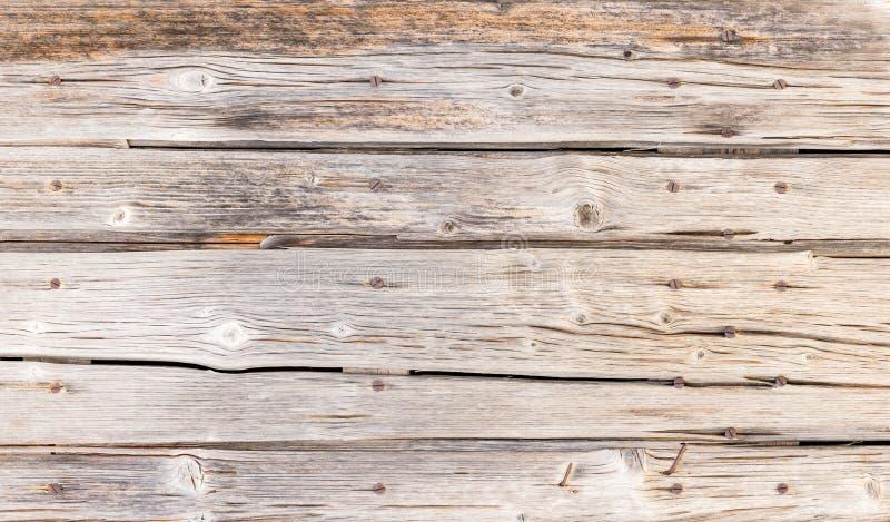 Vieja textura de madera gris natural resistida rústica de los tablones de los tableros imagen de archivo libre de regalías