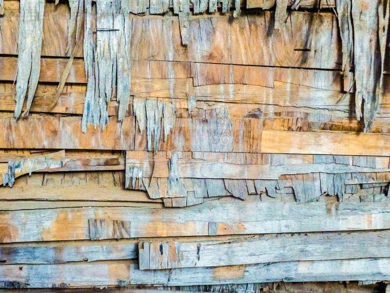 Vieja textura de madera gruesa del fondo fotos de archivo libres de regalías