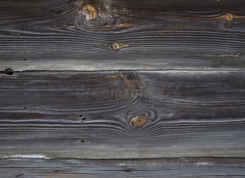 Vieja textura de madera oscura Fondo de madera oscuro imagen de archivo