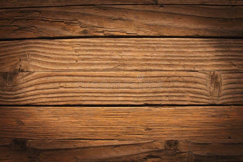 Vieja textura de madera rica del grano foto de archivo