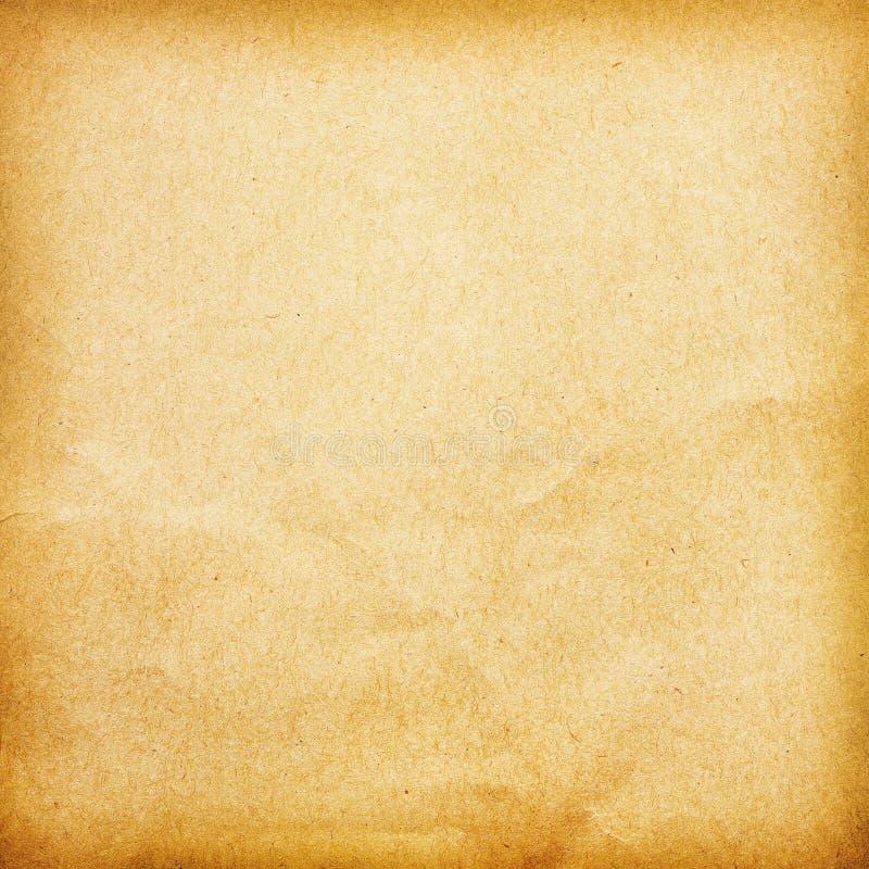 Vieja textura de papel del fondo ilustración del vector