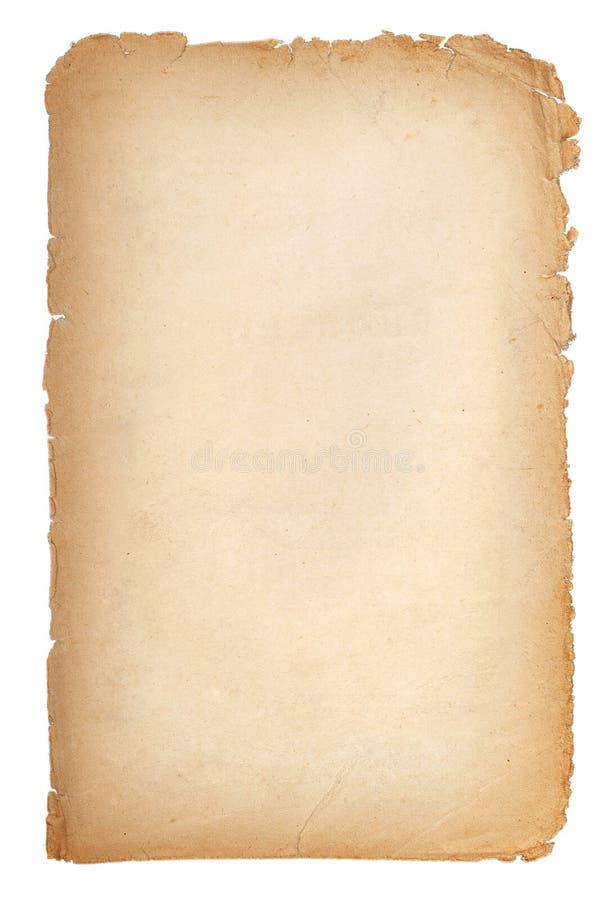 Vieja textura de papel del grunge, Yellow Pages vacío imagen de archivo libre de regalías