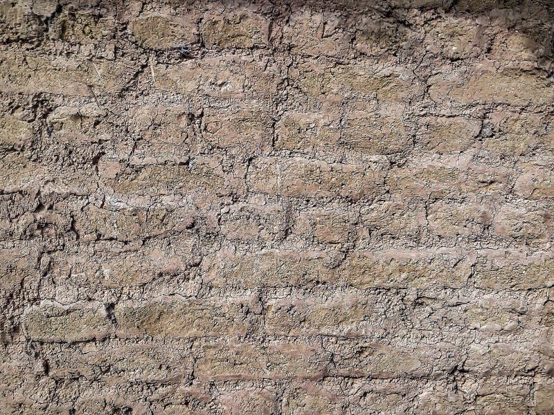 Vieja textura del fondo de la pared de ladrillo foto de archivo libre de regalías