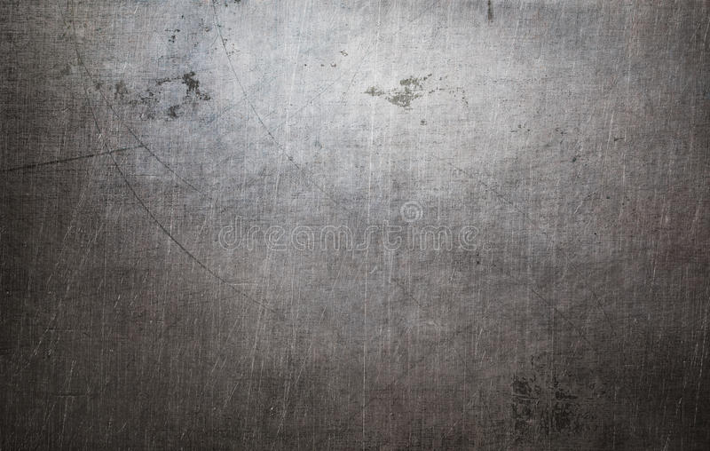 Vieja textura del metal del grunge imágenes de archivo libres de regalías