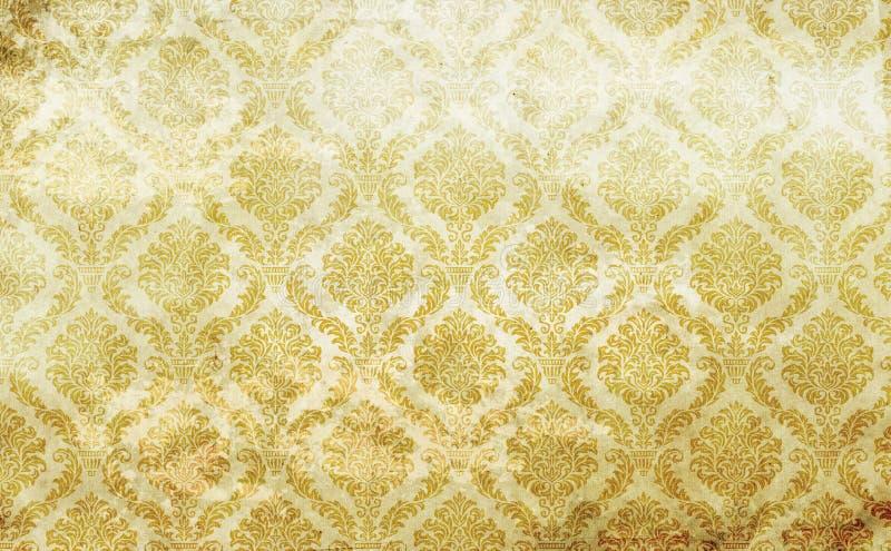 Vieja textura del papel de la vendimia ilustración del vector