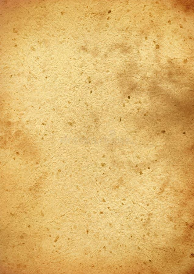 Vieja textura del papel de pergamino imagen de archivo
