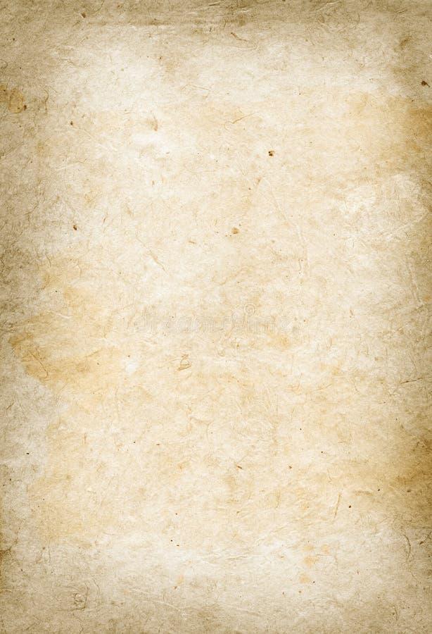 Vieja textura del papel de pergamino imágenes de archivo libres de regalías