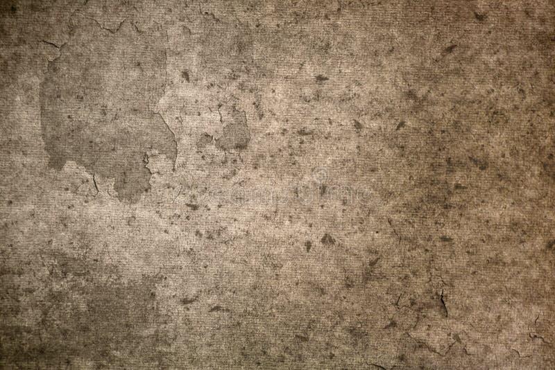Vieja textura del papel de pergamino fotografía de archivo