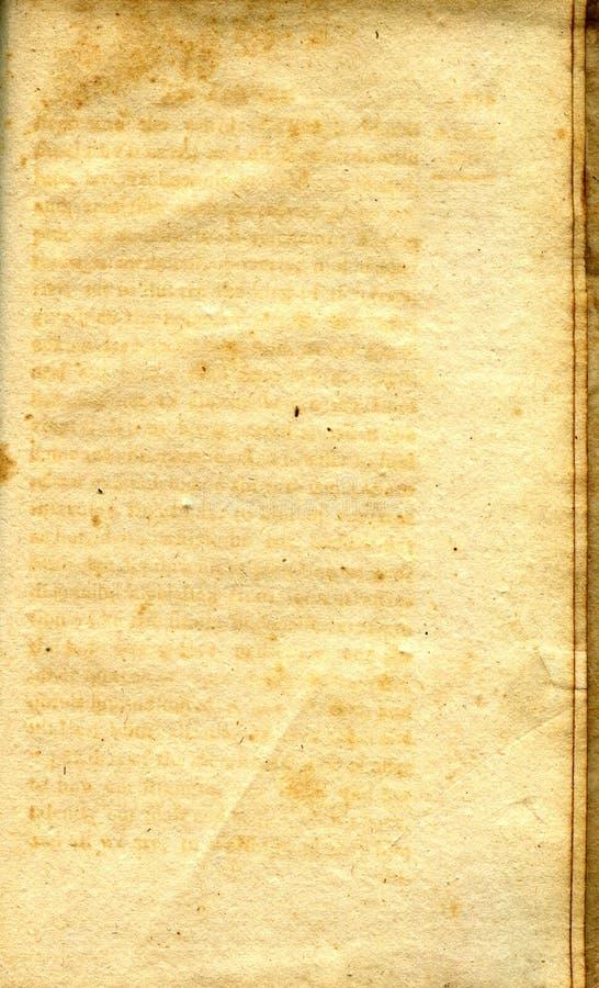 Vieja textura del papel del grunge fotografía de archivo