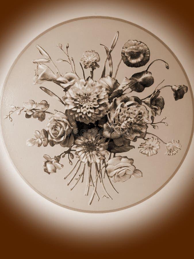 Vieja textura del papel pintado fotografía de archivo libre de regalías