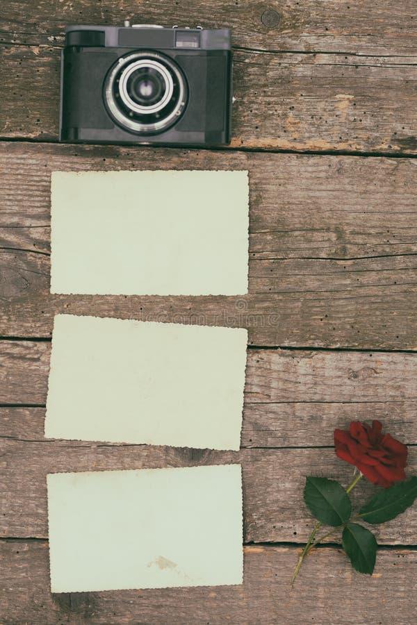 vieja textura en blanco del marco de la foto fotografía de archivo