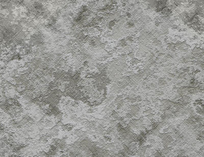 Vieja textura enyesada de la migaja de una pared seca stock de ilustración