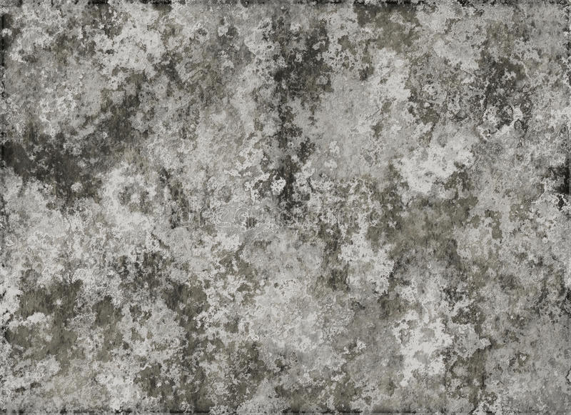 Vieja textura enyesada de la migaja de una pared seca libre illustration
