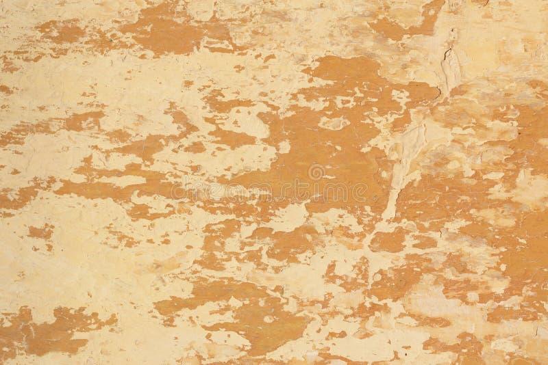 Vieja textura formada escamas de la pared del yeso fotos de archivo libres de regalías