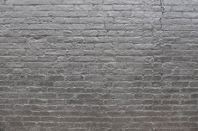 Vieja textura gris del fondo de la pared de ladrillo imagen de archivo libre de regalías
