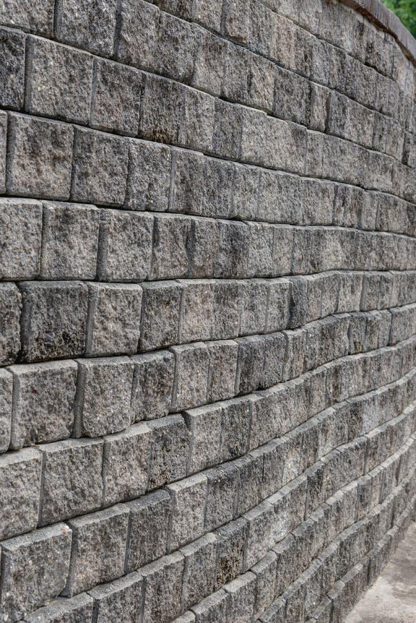 Vieja textura gris sucia de la pared de ladrillo imagenes de archivo