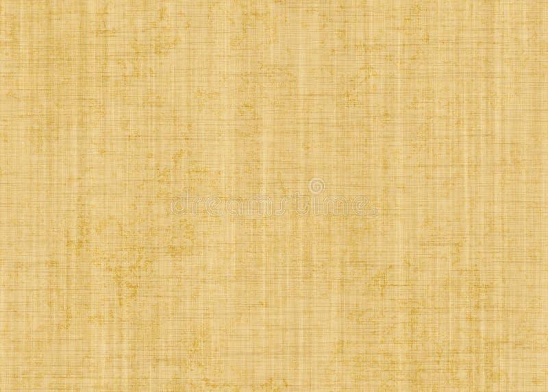 Vieja textura hecha a mano del papel en blanco ilustración del vector
