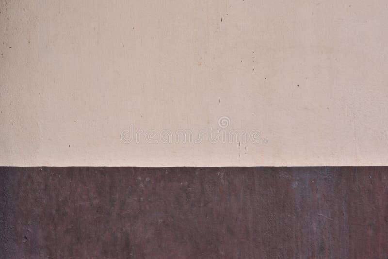 Vieja textura marrón del fondo del muro de cemento, palmadita superficial abstracta imagen de archivo