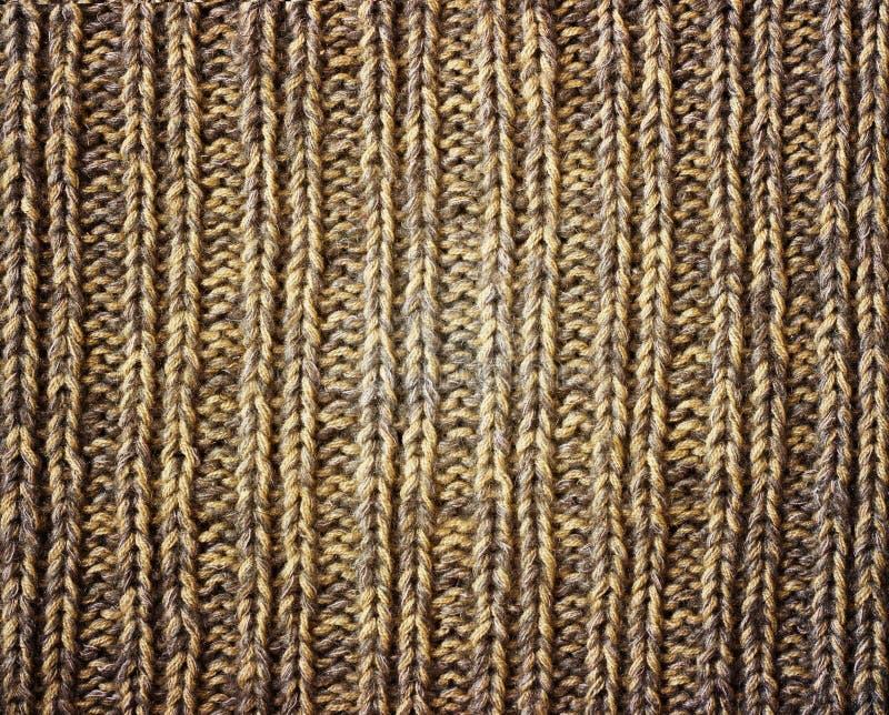 Vieja textura marrón del grunge de la lona como fondo imagen de archivo libre de regalías