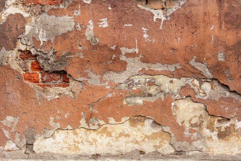 Vieja textura pintada del yeso fotos de archivo libres de regalías