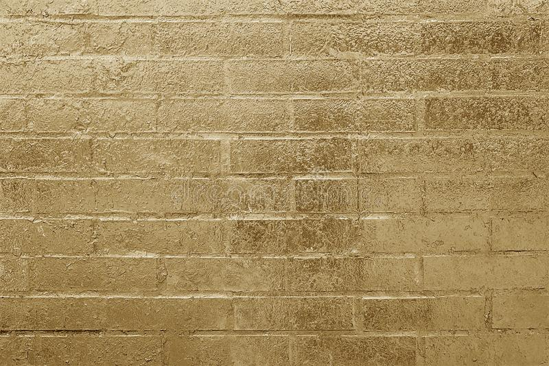 Vieja textura pintada marrón del fondo de la pared de ladrillo imagenes de archivo