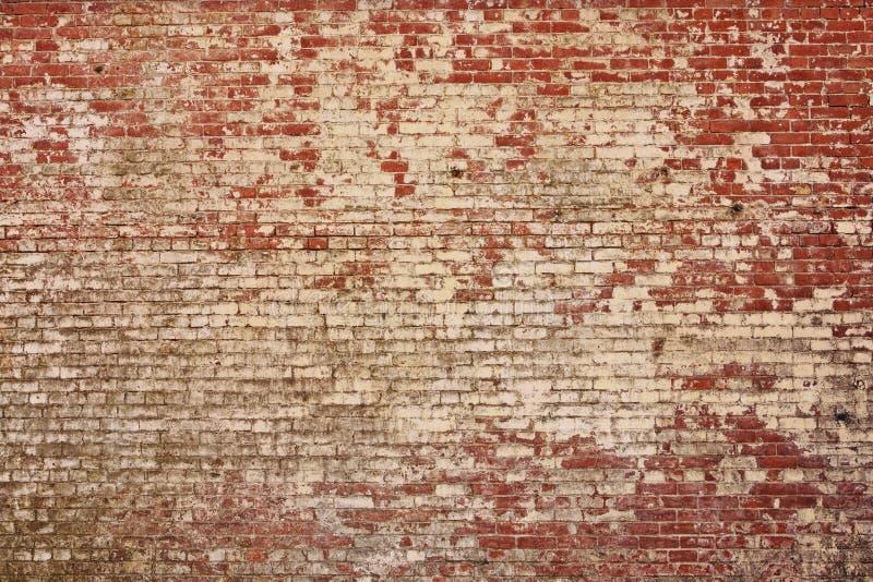 Vieja textura rústica de la pared de ladrillo fotografía de archivo