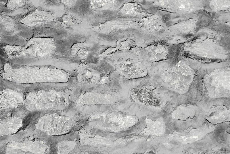 Vieja textura rústica y modelo de la pared de piedra imagen de archivo libre de regalías