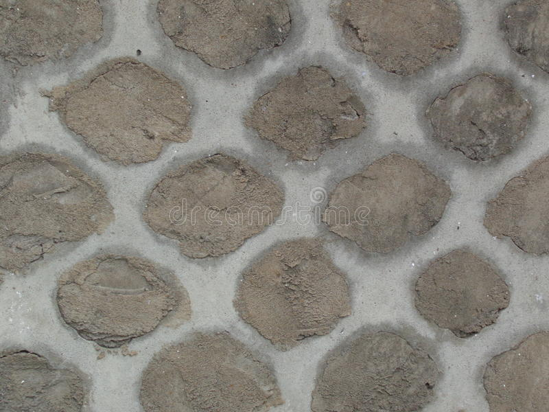 Vieja textura remendada de la pared de la cerca imagen de archivo libre de regalías