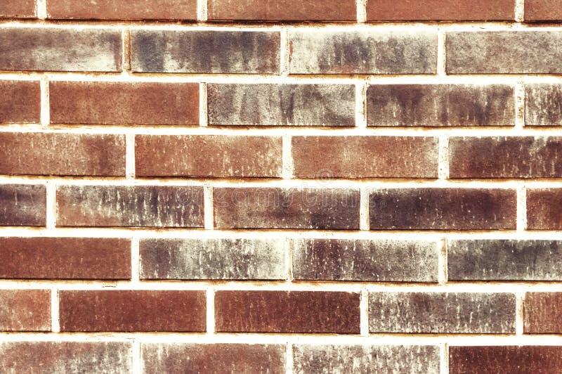 Vieja textura roja del backgroung de la pared de ladrillo imagenes de archivo