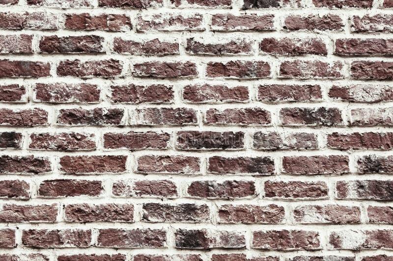 Vieja textura roja del backgroung de la pared de ladrillo fotografía de archivo