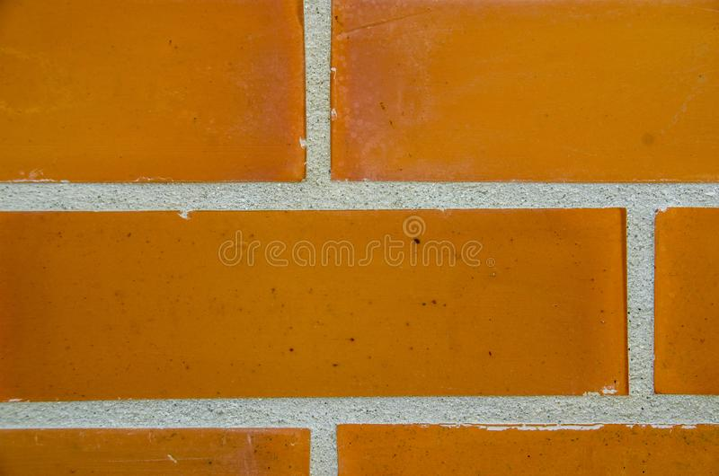 Vieja textura roja del fondo de la pared de ladrillo fotos de archivo libres de regalías