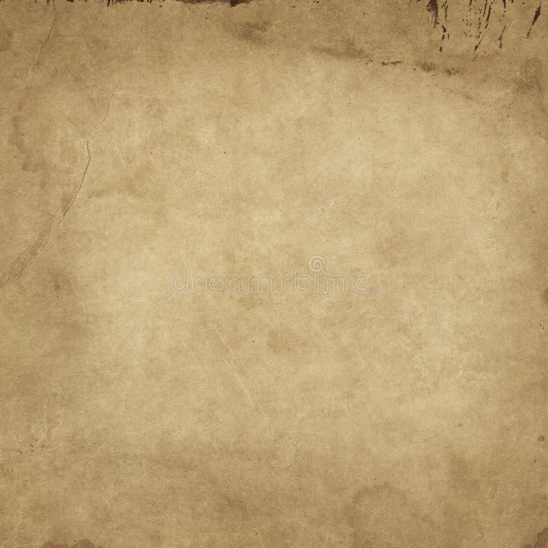 Vieja textura sucia y del grunge del papel foto de archivo libre de regalías