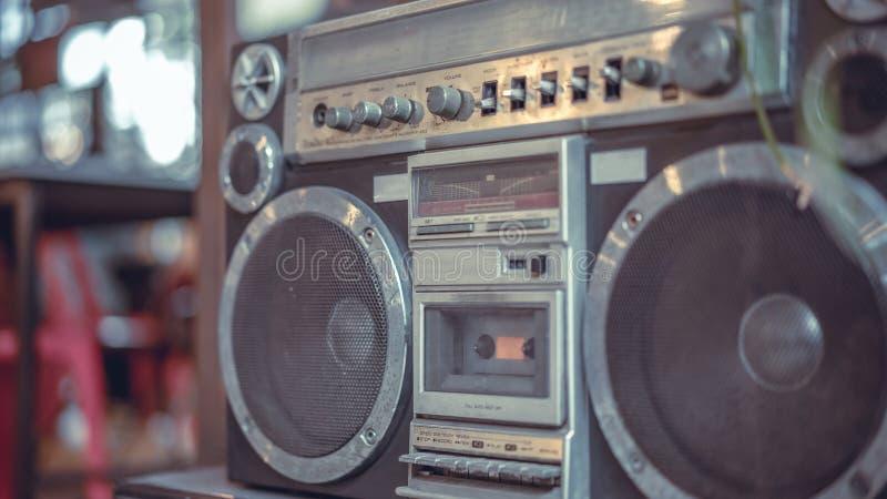 Vieja transmisión antigua de la radiocomunicación imágenes de archivo libres de regalías