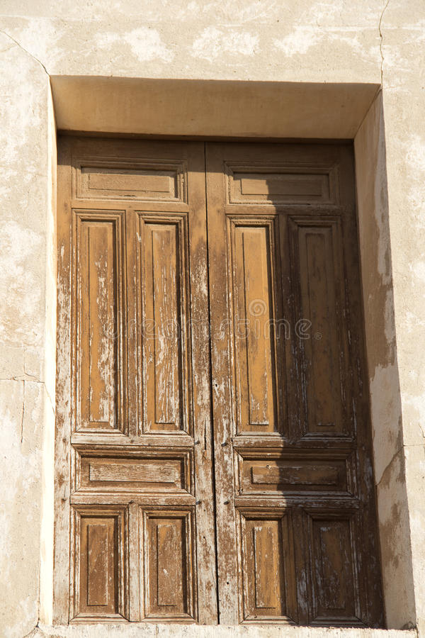 Viejas 18 de ventanas de Puertas y photographie stock