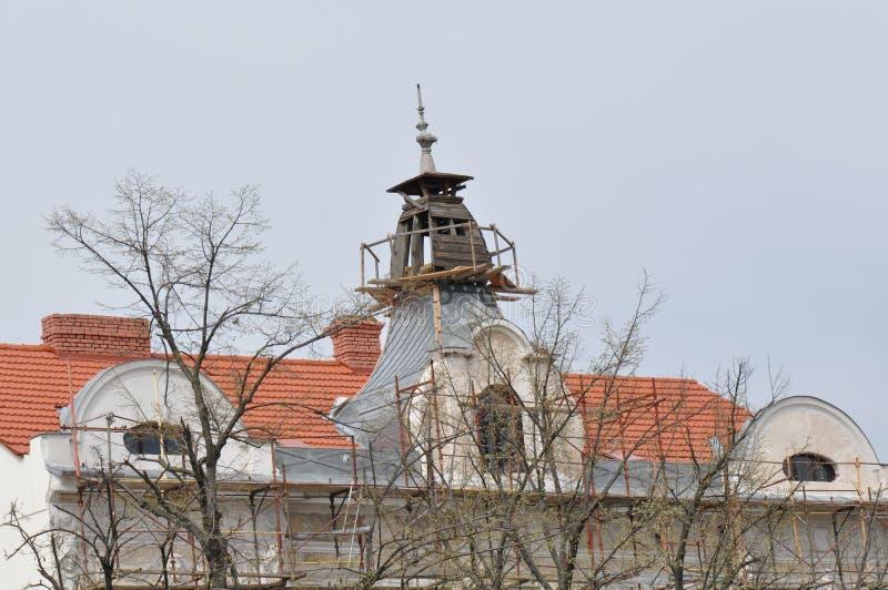 Viejas reparaciones de la casa foto de archivo