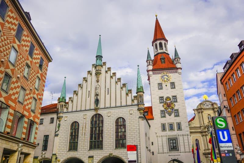Viejo ayuntamiento Munich foto de archivo libre de regalías