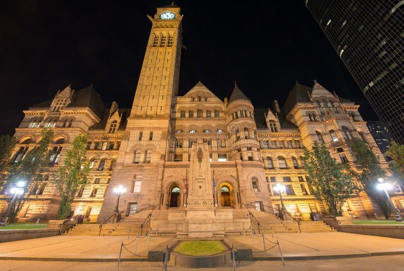 Viejo ayuntamiento Toronto imagenes de archivo