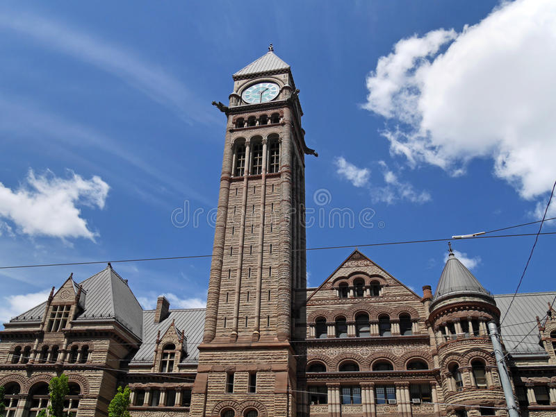 Viejo ayuntamiento Toronto imagen de archivo
