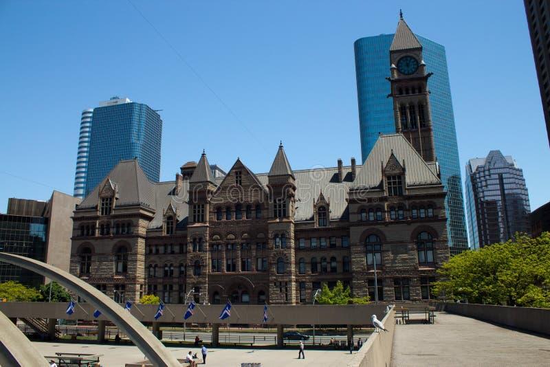 Viejo ayuntamiento - Toronto, Canadá Toronto foto de archivo libre de regalías