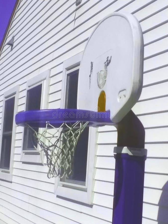 Viejo baloncesto fotos de archivo