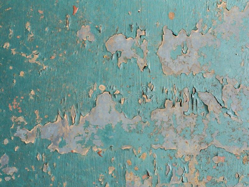 Viejo cierre oxidado de la textura de la turquesa del metal para arriba fotos de archivo libres de regalías
