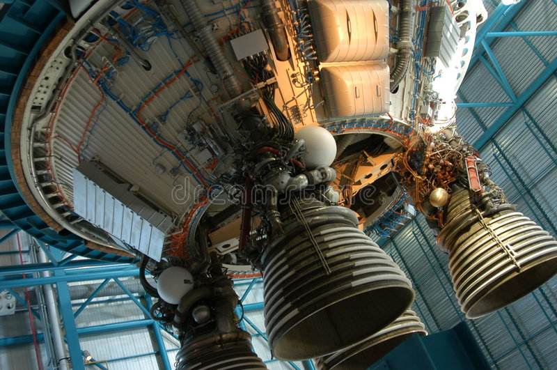 Viejo detalle del cohete imagen de archivo libre de regalías