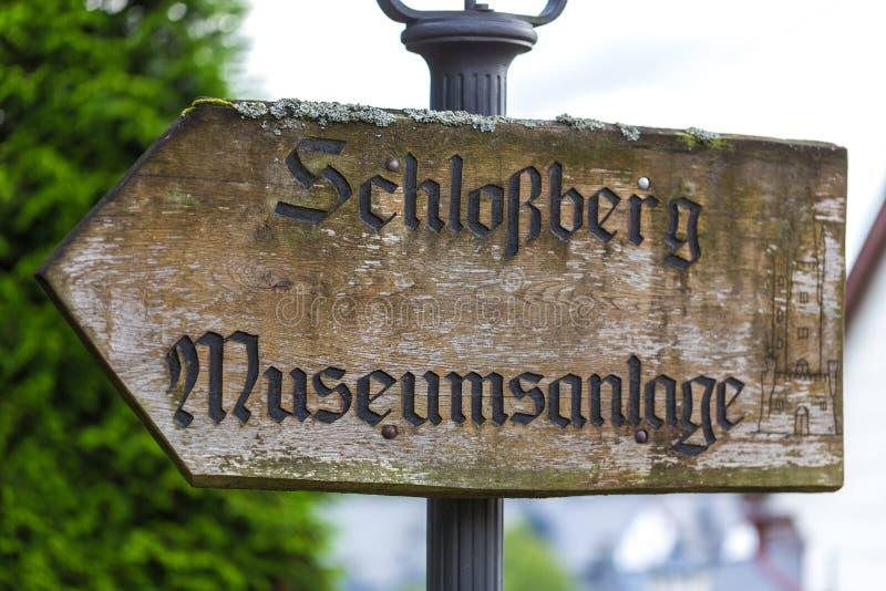 Viejo dillenburg Alemania de la muestra del castillo fotografía de archivo libre de regalías