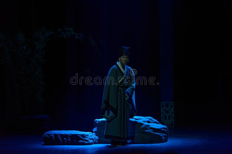 Viejo drama histórico Yuanheng-Preludio-grande de Ji, ` Yangming ` de tres noches imágenes de archivo libres de regalías
